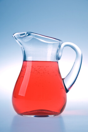 filled jug